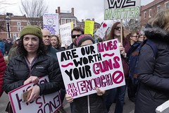 March For Our Lives (radiorocky) Tags: demonstration protest guns students news photojournalism portsmouth newhampshire newengland seacoastregion youth streetphotography marketsquare street