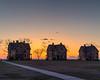 Fort Hancock Sundown (aka Buddy) Tags: 2018 spring sandy hook sunset officers row parade grounds highlands nj og hdr