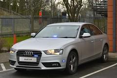 Unmarked Traffic Car (S11 AUN) Tags: west midlands police wmp audi a4 30tdi quattro saloon unmarked anpr traffic car rpu roads policing unit 999 emergency vehicle