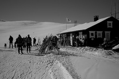 Easter #3 (g@schei) Tags: norway norge hol geilo skiing winter leica m8 bw mountain