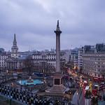 Trafalgar Square, London at Dusk thumbnail