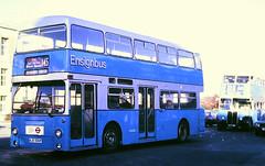 Slide 116-68 (Steve Guess) Tags: aec regent rt lt lrt iii rt3232 kyy961 barking dagenham london essex england gb uk regional transport dms daimler fleetline kjd500p dms500