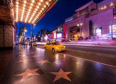 The Walk of fame (photoserge.com) Tags: hollywood walk fame street city cityscape nightphotography sony los angeles