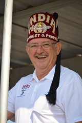 A Shriner smile (radargeek) Tags: portrait india shriner smile mustang 2017 westerndayparade westerndays oklahoma smalltown glasses egyptian