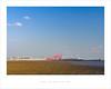 High sky and low tide (Parallax Corporation) Tags: liverpooldocks crosbybeach minimalism anotherplace bluesky horizonline seascape seaside merseyside landscape cranes