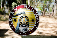 Secret India 2018 (Simon Caunt) Tags: plaque badge railwaysign indianrailways secretindia d800 nikond800 nikoncameras nikon nikondslr 240700mmf28nikkor afsnikkor2470mmf28 india karnataka julesverne holiday holidays