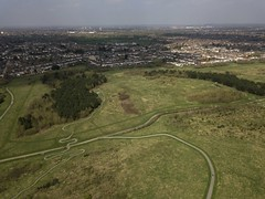 From Ingrebourne hill to Hornchurch (dwimagesolutions) Tags: england essex rainham hornchurch ingrebournehill aerial aerialphotography dronephotography djimavicpro
