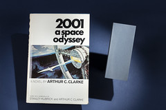 2001 A Space Odyssey Book and Monolith (Smithsonian National Air and Space Museum) Tags: 2001 space odyssey nasa astronaut tom jones shuttle atlantis monolith arthur clarke nationalairandspacemuseum