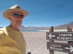 Laguna Miscanti, Chile (Luís Biggi) Tags: lagunamiscanti lagunamiñiques lake reservanacionallosflamencos vicunha vulcán volcano chile deserto atacama andes