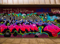 A Place to Land (Steve Taylor (Photography)) Tags: kayone robot wings graffiti streetart tag colourful uk gb england greatbritain unitedkingdom london