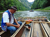 Raftsman (cutebeets) Tags: raftsman rafter rafting dunajec river gorge trees mountains man mountaineer raft boat spływ przełom tratwa góral człowiek mężczyzna rzeka drzewa góry pieniny poland polska