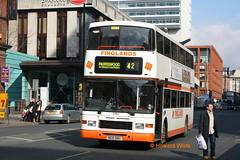 Finglands 1791 (N591 BRH) (SelmerOrSelnec) Tags: finglands volvo olympian alexander royale n591brh manchester portlandstreet eastyorkshire bus