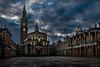 Universidad Laboral (antoniopérezsánchez) Tags: gijón asturias españa spain drama bluehour nikond5500 antoniopérez