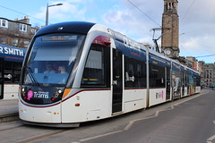 Edinburgh Trams: 272 West End - Princes Street (emdjt42) Tags: edinburghtrams tram 272 edinburgh caf