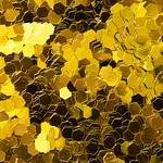 Golden glitter textured background abstract thumbnail
