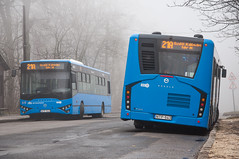 M108D (ac.Zadam) Tags: bus ikarus eag modulo m108d 108 21a bkv bkk transport public budapest hungary ntp 542 543 normafa winter fog blue cold