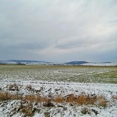 Sunday view❄😰 Eifel today (eikeblogg) Tags: mobilephotography snow springbreak march rural landscapeshots eifel ckouds fields view today
