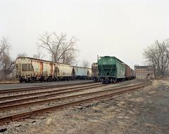 Troy, NY (devb.) Tags: 4x5 largeformat linhoftechnika4 210mm ektar troy ny railyard