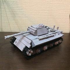 Panther Tank WIP (cool_studio2282) Tags: lego ww2 moc panther wip tank