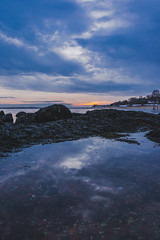 Seascapes II (wardephoto) Tags: surreal surreallandscape winter winterscape wintersunset sunset sunsetcolors sunsetphotography ocean oceanlandscape clouds moody moodypics newengland massachusetts nikon landscape landscapephotography landscapeexhibition landscapephoto reflections reflectionphotography cloudy
