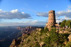 Desert Point, Grand Canyon, Arizona, August 2017 558 (tango-) Tags: us usa america statiuniti west western arizona grandcanyon desertpoint watchtower