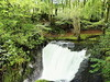 The waterfall near Dyfi Furnace in Wales