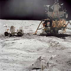 Orion on the Moon (NASA on The Commons) Tags: apollo16 orion johnyoung alsep ultravioletcamera