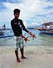 Starfish (Mikah_Manansala) Tags: analog film filmforever ilovefilm ishootfilm medium format 120 6x7 pentax fuji fujichrome slide e6 travel philippines palawan seascape nature