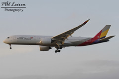 Asiana Airlines - HL8078 - 2018.03.10 - EGLL/LHR (Pål Leiren) Tags: london england heathrow lhr eggl flyplass airport planes plane planespotting aviation aircraft runway rw airplane canon7d 2018 airliner jet jetliner march march2018 egll heathrowairport londonheathrow uk greatbritain unitedkingdom airbus a350941a359 a350 hl8078 asianaairlines a350941 asiana airlines