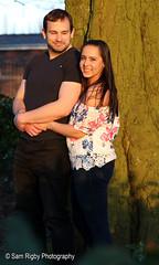 Couples Portrait (Sam Rigby Photo) Tags: victoriapark engaged love canon portrait