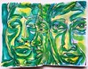 Christian Montone - Sketchbook (Christian Montone) Tags: montone christianmontone ink watercolor drawing painting sketch sketchbook mixedmedia face faces portrait linedrawing line contour art
