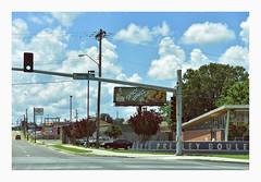 Elvis Presley Boulevard (philippe*) Tags: memphis elvis tribute vintage urbanlandscape tenessee
