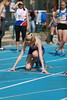 VDP_0081-2 (Alain VDP (VANDEPONTSEELE)) Tags: 100m athlétisme sportives sport trackfield atletiek cabw championnat championship jeunes fille extérieur piste dodaine nivelles brabant wallon stade sprint course