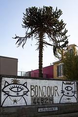 Bonjour (Corinne B.) Tags: street art