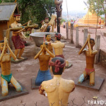 Buddhist hell at Wat Phnom Yat, Pailin thumbnail