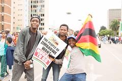 Zimbabwe tells Robert Mugabe to go! Solidarity March, 18 Nov 2017 (Zimbabwean-eyes) Tags: zimbabwe solidarity march mugabe politics coup harare