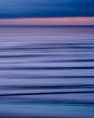 Never Have I Been a Blue Calm Sea... (LadyBMerritt) Tags: icm intentionalcameramovement ocean blues sunset pacific