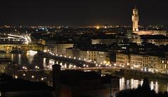 Ponte Vecchio (mesana62) Tags: florencia italia travel toscana arno river night light city skyline sky mirror cylon13 nikon landscape luz reflejos reflection water arquitectura italy
