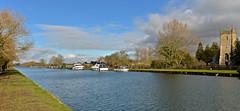 FRAMPTON ON SEVERN (chris .p) Tags: nikon d610 view gloucestershire winter 2018 uk church canal framptononsevern february
