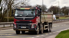 PE67 HUJ (Martin's Online Photography) Tags: volvo tipper fmx truck wagon lorry vehicle freight haulage commercial transport bulk a580 leigh lancashire nikon nikond7200