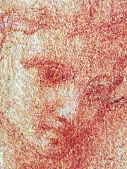 PRIMATICE - Hylas retenu par les Nymphes (drawing, dessin, disegno-Louvre INV8523) - Detail 065 (L'art au présent) Tags: dessins disegni people art details détail détails detalles italiandrawings dessinitalien italianpainters peintresitaliens renaissance dessins16e 16thcenturydrawing 16thcentury croquis étude study sketch sketches sanguine redchalk museum france italie italy bollogne francescoprimaticcio leprimatice primaticcio myth mythe mythologie mythology female femme women woman jeunefemme youngwoman jeunehomme youngman boy littleboy garçon enfant kid kids child children nymph naked nude nu figure personnes men portrait portraits face faces visage drawings