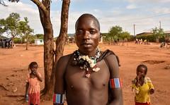 Banna Tribe (Rod Waddington) Tags: africa african afrique afrika äthiopien ethiopia ethiopian ethnic etiopia ethnicity ethiopie etiopian omovalley omo outdoor omoriver banna traditional tribe tribal warrior town street children girls culture cultural