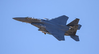 F-15e Flexing On Departure