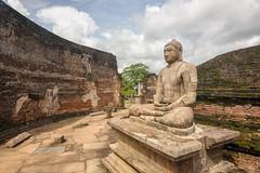 Buddha (good.fisherman) Tags: landmark tribute sightseeing historical sightseer tourist destination visiting sri lanka temple ancient archaeological site statue buddhims buddha