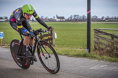Femke Markus (G. Warrink) Tags: womenscycling womenofcycling healthyageingtour hat18 cycling cyclingrace itt timetrial heerenveen friesland individualtimetrial