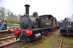 B4 30096 Normandy at Horsted Keynes (davids pix) Tags: 96 30096 lswr adans b4 dock shunter preserved steam locomotive horsted keynes bluebell railway 2018 25032018