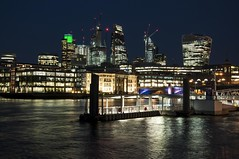 London's ever changing skyline. (daveknight1946) Tags: london riverthames sundaylights greatphotographers abigfave