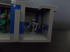 NCS Corridor section (SaurianSpacer) Tags: lego moc classicspace corridor neoclassicspace