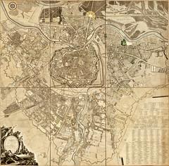 Hieronimus Benedicti & Maximilian von Grimm - Plan de la Ville de Vienne et de Ses Fouxbourgs avec le Denombrement des Masions Fait en 1797 (Pau NG) Tags: hieronimusbenedicti maximilianvongrimm art maps wien vienna 1797