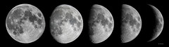 March Moon Montage (Gordon Mackie) Tags: moon lunar lunarphases telescope